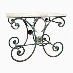 French Antique Patisserie Table