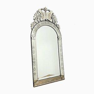 Large Vintage Venetian Mirror