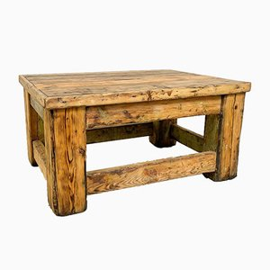 Industrial Wooden Coffee Table