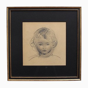 Portrait of a Young Child by Guillaume Dulac, Circa 1920s