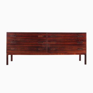 Scandinavian Chest of Drawer in Rio Rosewood by Arne Wahl Iversen for Vinde Møbelfabrik