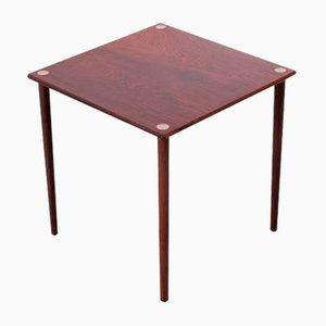 Mid-Century Scandinavian Occasional Table in Rio Rosewood by Georg Petersen