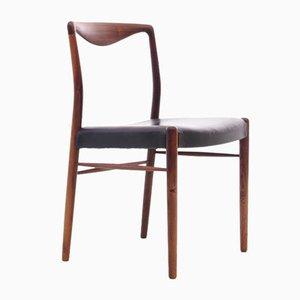Mid-Century Scandinavian Chair in Rio Rosewood by Kai Lyngfeldt-Larsen