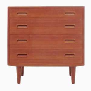 Mid-Century Modern Scandinavian Chest or Drawer in Teak by Poul Hundevad