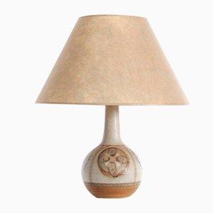 Mid-Century Scandinavian Ceramic Table Lamp from Søholm