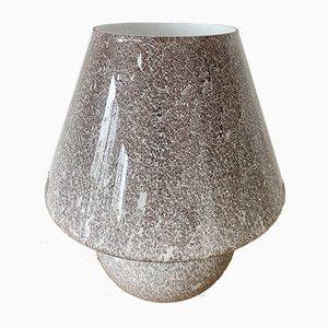 Mushroom Lampe aus Glas, 1970er