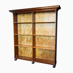 Vintage Large Wooden Bookcase