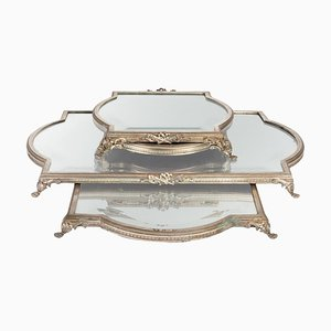 Silver Bronze Table Tops, Set of 4
