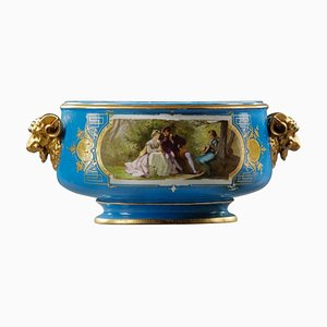Sevres Style Porcelain Cup