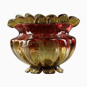 Becher aus geformtem Glas, 19. Jh