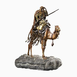 Orientalist Statue von Franz Bergmann
