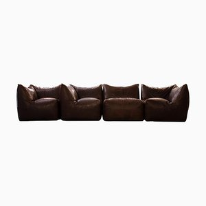 Le Bambole Sofa by Mario Bellini, 1979, Set of 4