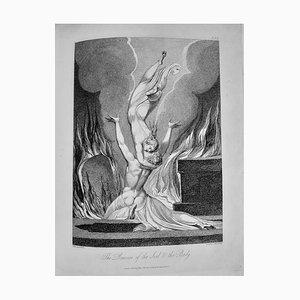 The Grave, a Poem, Seltenes Vintage Buch Illustriert von William Blake, 1808