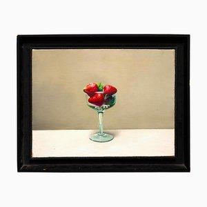 Zhang Wei Guang / Mirror - Tasse mit Erdbeeren - Öl auf Leinwand - 2000er