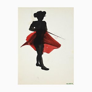 Leo Guida - Matador - Original Monotype Lithograph - Late 20th Century