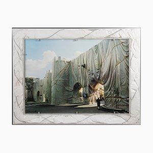 Muralla romana envuelta Christo and Jeanne-Claude, The Wall, 1973/74
