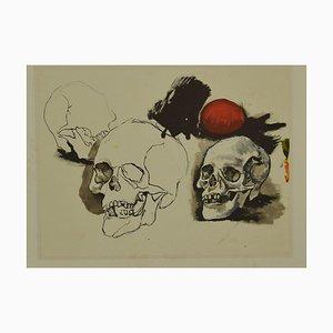 The End, Offset de Renato Guttuso, finales del siglo XX