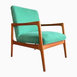 Schwedischer Teak Sessel von Alf Svensson für DUX, 1950er