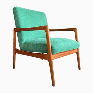 Swedish Teak Easy Chair by Alf Svensson for DUX, 1950s