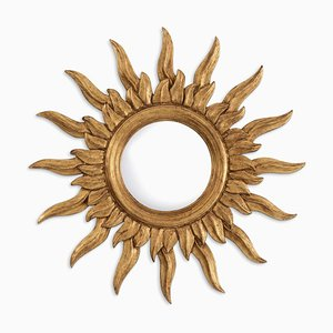 Witch's Eye Mirror with Sun Shape