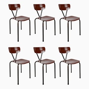 Pagwood Chairs from Pagholz Flötotto, Set of 6