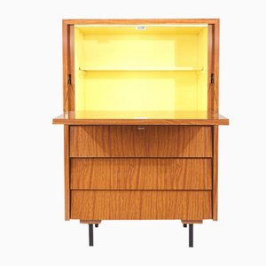 Cabinet with Yellow Interior, 1950s