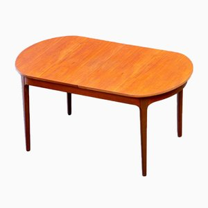 Vintage Scandinavian Extendable Table from Nathan