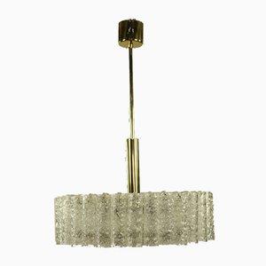 Glass Tube Pendant Lamp from Doria Leuchten, 1960s