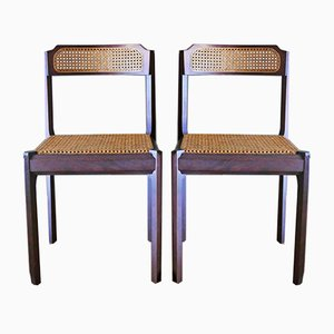 Viennese Straw Chairs, 1960s, Set of 2