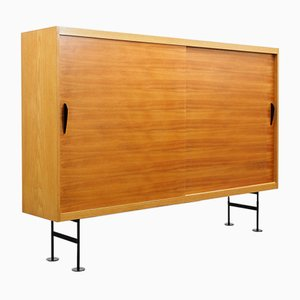 Highboard in Ash & Walnut, 1960s