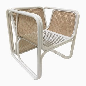 Rattan and Cane Chair