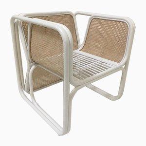 Stuhl aus Rattan & Schilfrohr