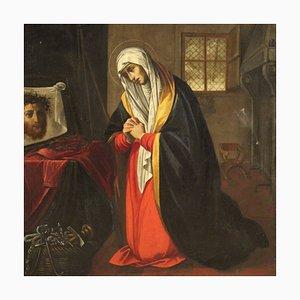 Große Antike Malerei, Saint Veronica, 17. Jahrhundert