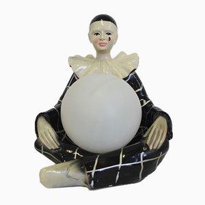 Pierrot Sphere Lamp, 1950s