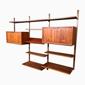 Modular Wall Unit by Poul Cadovius for Cado
