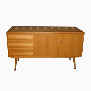 Small Light Sideboard, 1950s