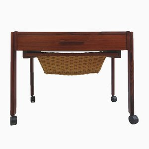 Danish Rosewood Sewing Table, 1960s