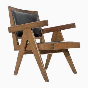 Vintage Chandigarh Armlehnstuhl von Pierre Jeanneret