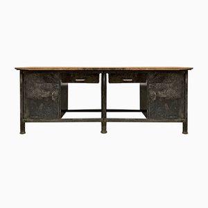 Vintage Industrial Workbench