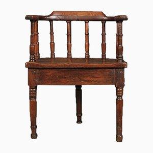 Oak Cricket Chair, 18th Century