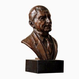Bronze Bust of a Man