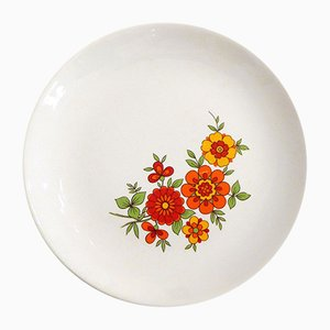 Dessert Plates from Orchies Moulin des Loups, 1970s, Set of 9