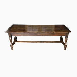 Antique French Fruitwood Farmhouse Dining Table