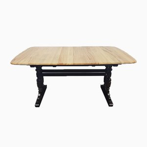 Large Vintage Extendable Dining Table from Ercol