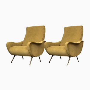 Italian Lady Chairs by Marco Zanuso, 1960s, Set of 2