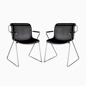 Penelope Chairs by Charles Pollock for Castelli / Anonima Castelli, Set of 2