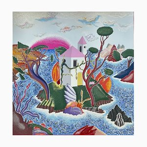 Luca Alinari, Islands, Coloured Siebdruck