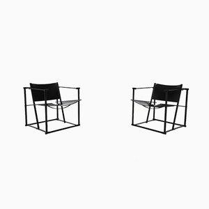 Dutch Cubic FM61 Lounge Chairs by Radboud Van Beekum for Pastoe, 1980s, Set of 2