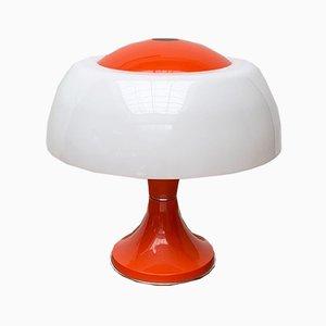 Lámpara de mesa italiana era espacial Mid-Century de Gaetano Sciolari para Ecolight / Valenti