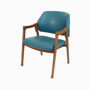 Vintage 814 Armlehnstuhl von Ico & Luisa Parisi für Cassina